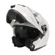 LS2 Easy White Flip Front Modular Crash Helmet